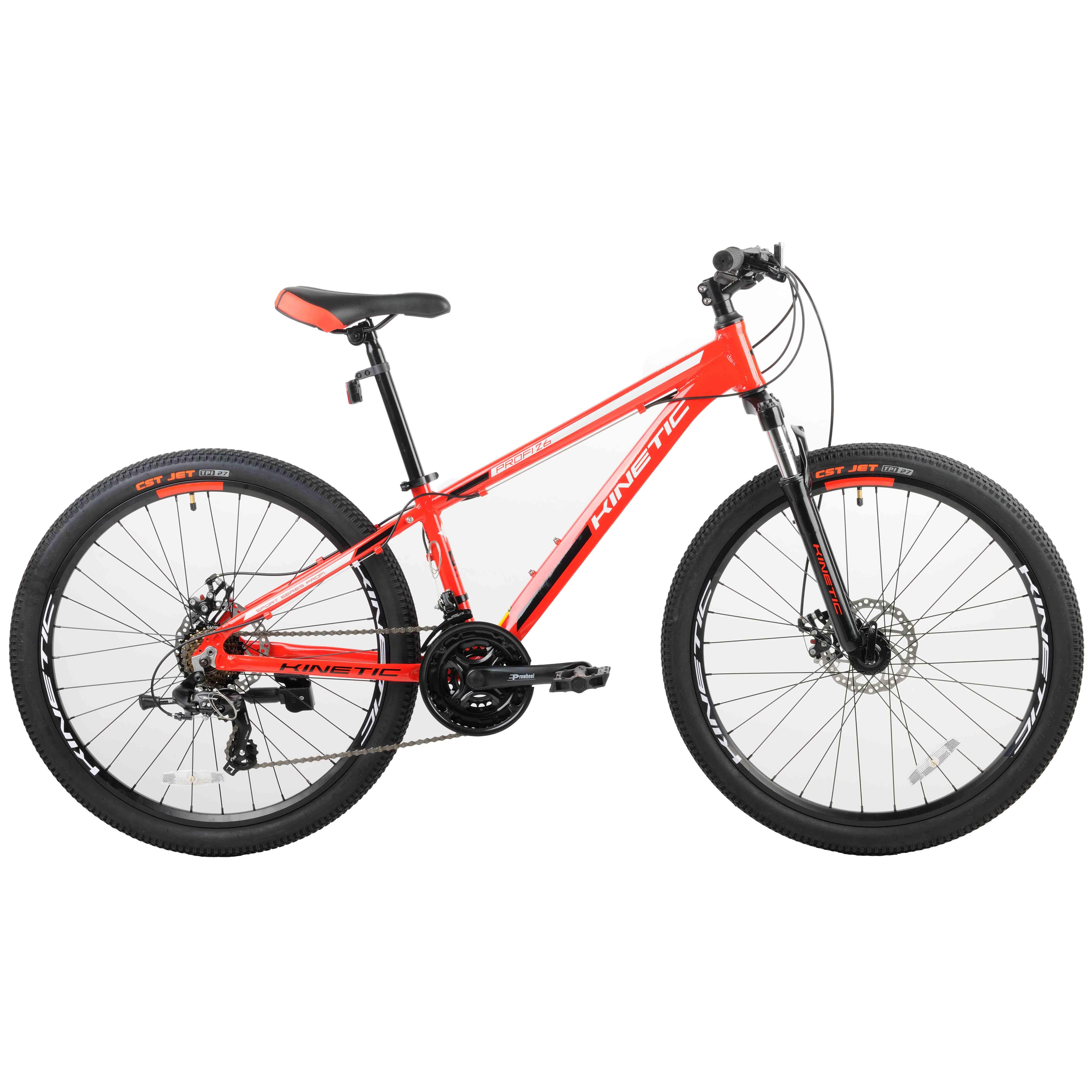 Фото Подростковый  Велосипед Kinetic 26″ PROFI  15″ (красный)