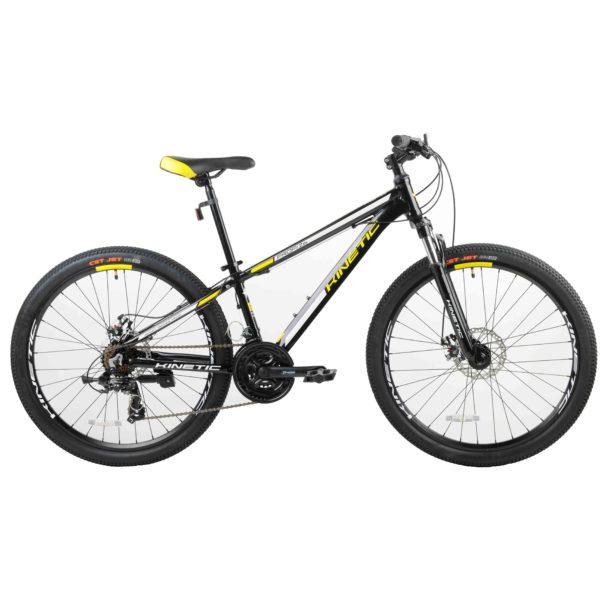 """Фото Подростковый  Велосипед Kinetic 26"""" PROFI  15"""" (черный)"""