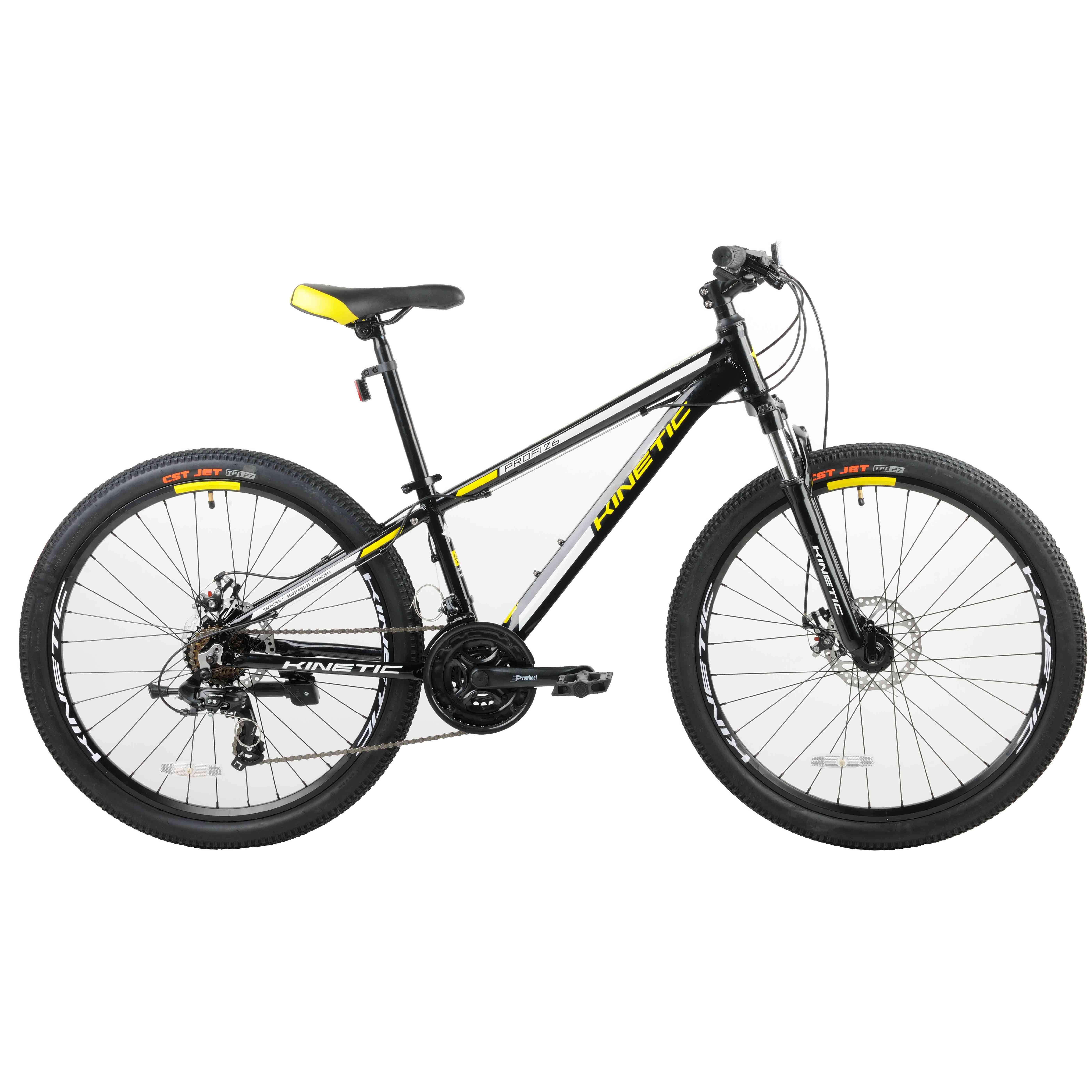 Фото Подростковый  Велосипед Kinetic 26″ PROFI  13,5″ (черный)