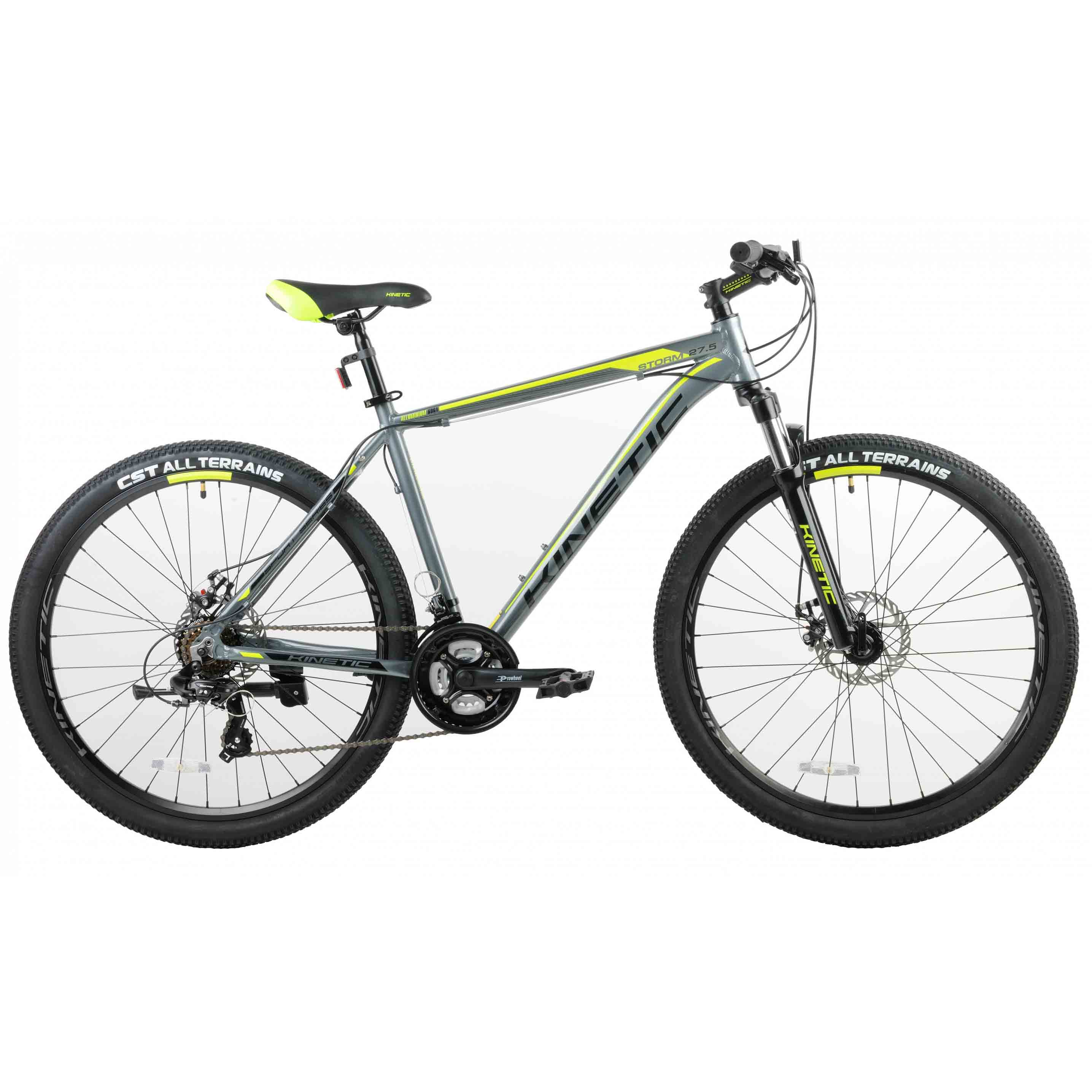 Фото Горный Велосипед Kinetic 27,5″ STORM  19″ (серый)