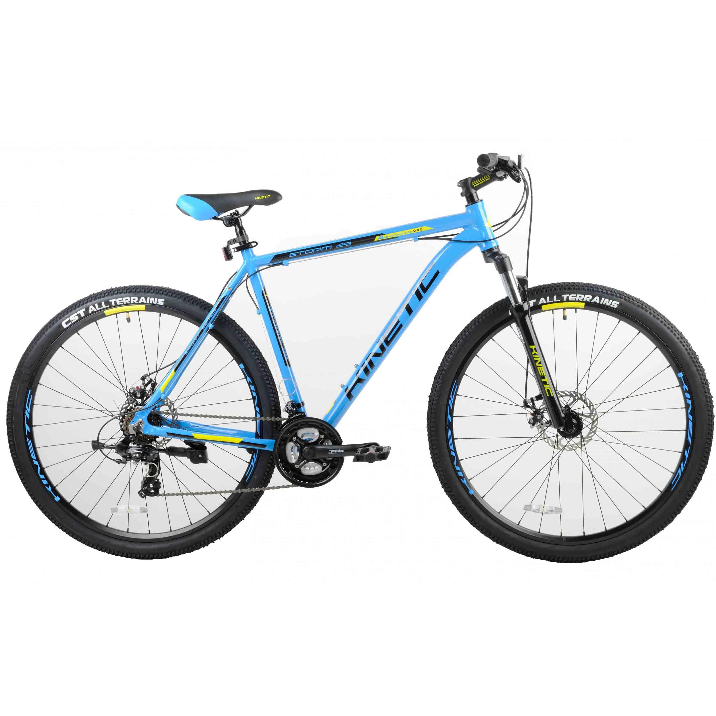 Фото Горный Велосипед Kinetic 29″ STORM 22″ (синий)