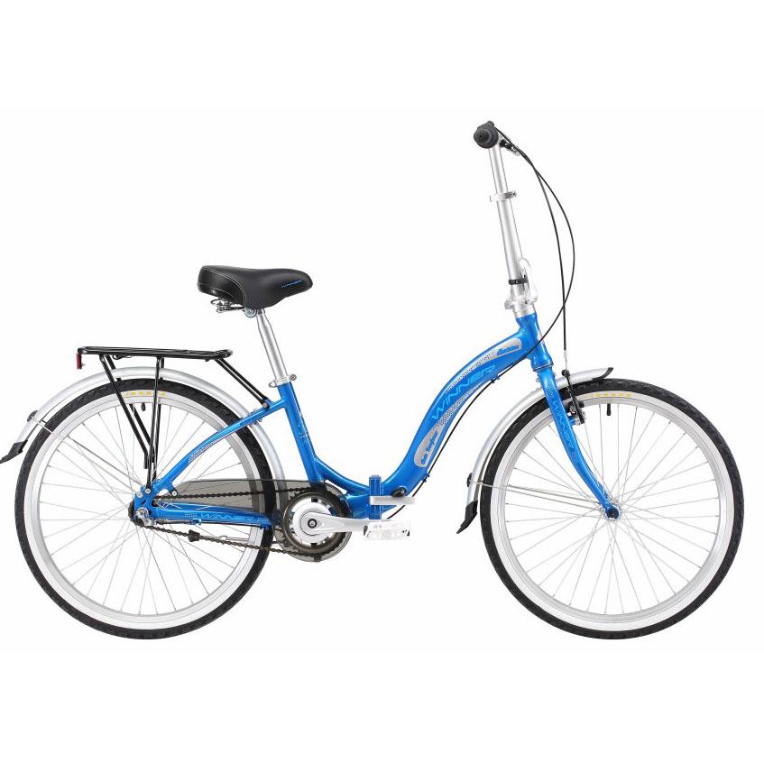 Фото Детский Велосипед Winner 24″ IBIZA (складной) (синий)