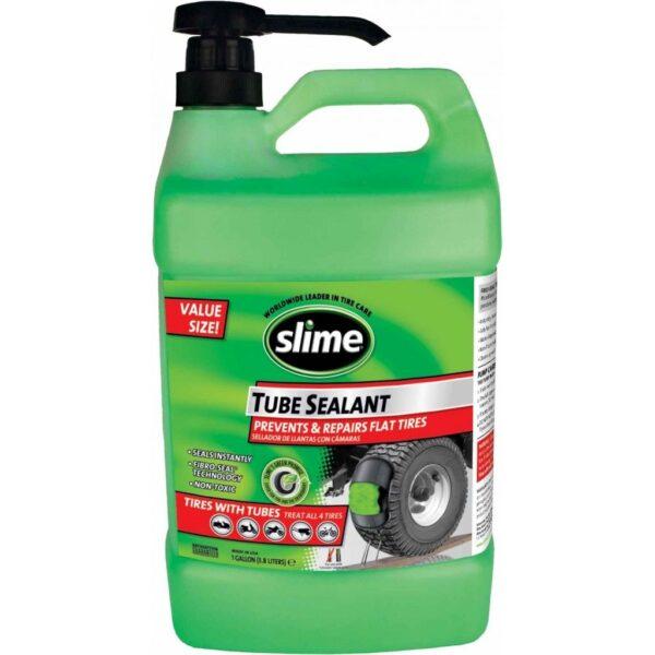 Фото Антипрокольная жидкость для камер Slime, 3.8л