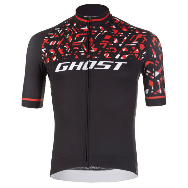 Фото Джерси  Ghost Racing Jersey Short blk/red/wht - L