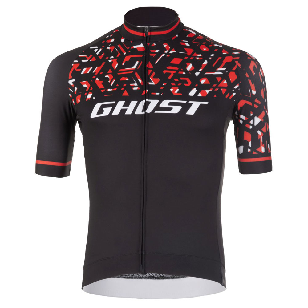 Фото Джерси  Ghost Racing Jersey Short blk/red/wht – L