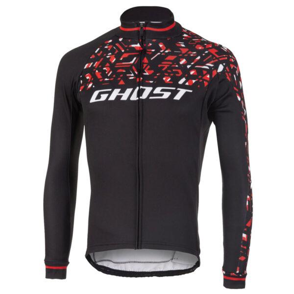 Фото Джерси Ghost  Racing Jersey Long blk/red/wht - L