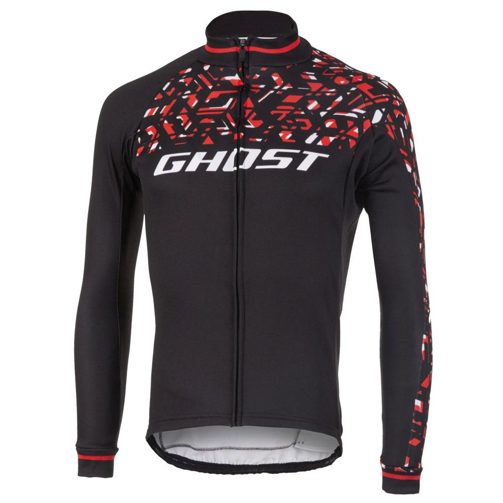 Фото Джерси Ghost  Racing Jersey Long blk/red/wht — L