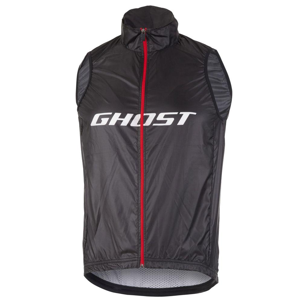 Фото Жилет Ghost Factory Racing  Vest BLK/RED/WTE – L