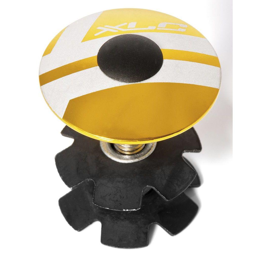 Фото Ромашка в рулевую XLC AP-S01, 1.1/8″, золотой