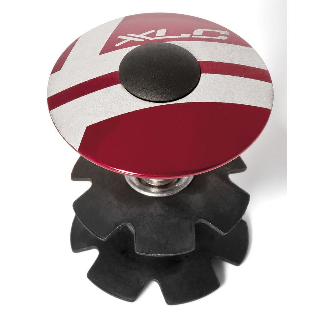 Фото Ромашка в рулевую XLC AP-S01, 1.1/8″, красный