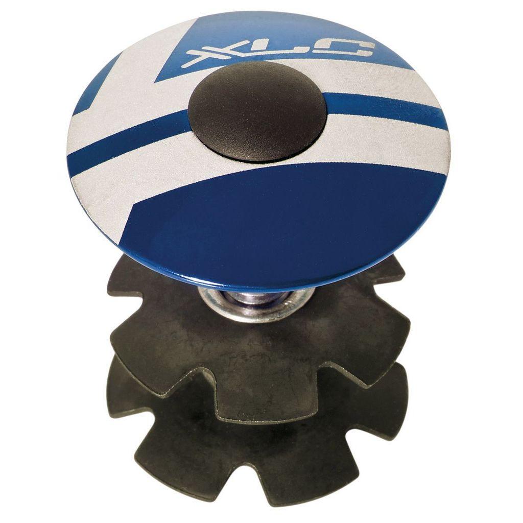 Фото Ромашка в рулевую XLC AP-S01, 1.1/8″, синий