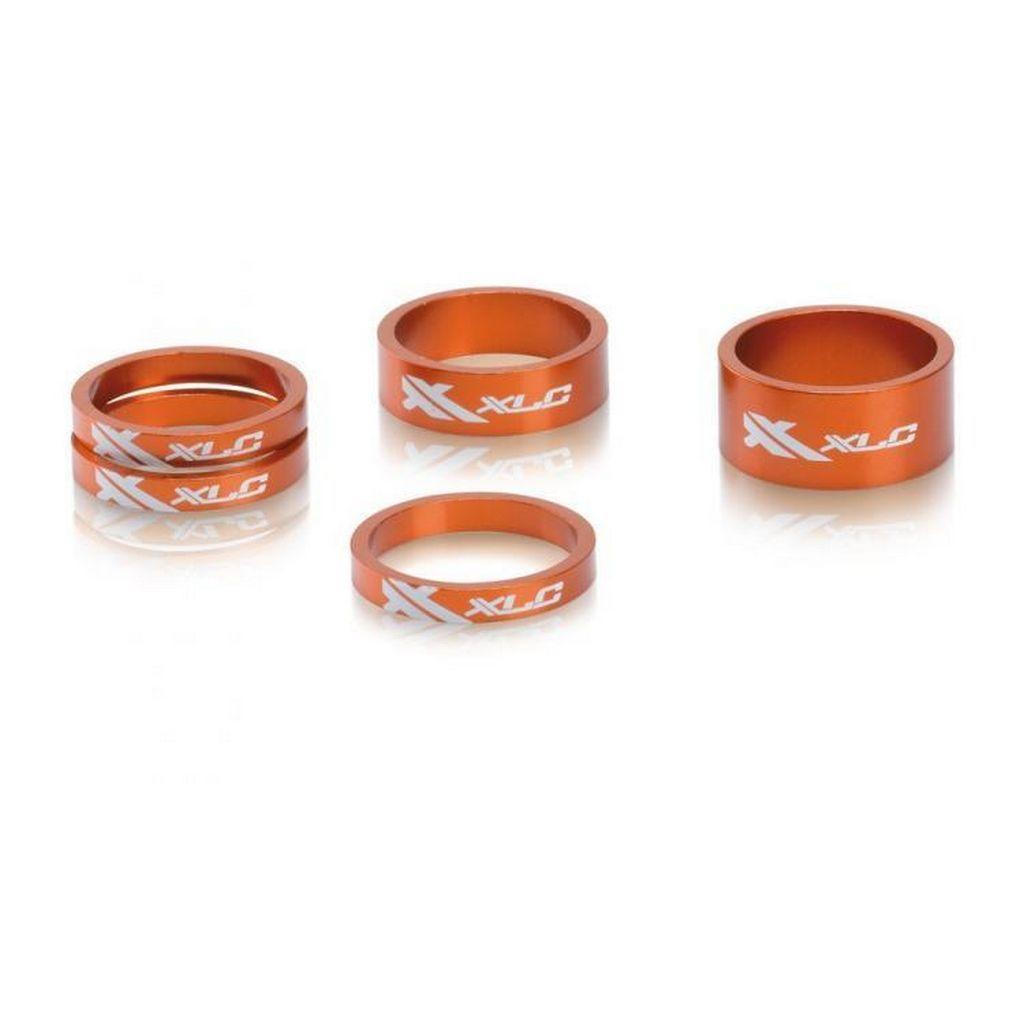 Фото Проставочные кольца, XLC AS-A02, 1 1/8″, оранжевые