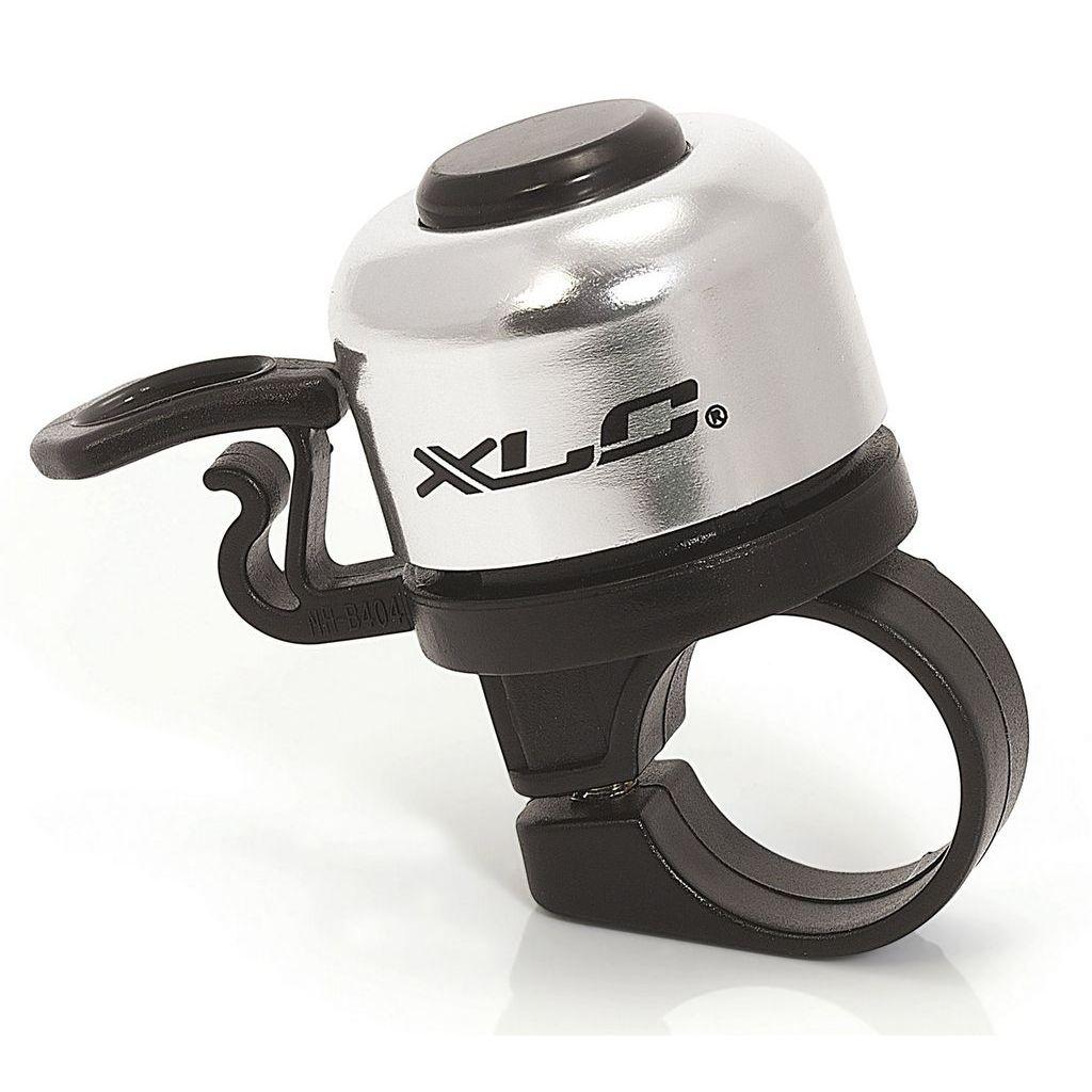 Фото Звонок велосипедный XLC DD-M06, серебристый