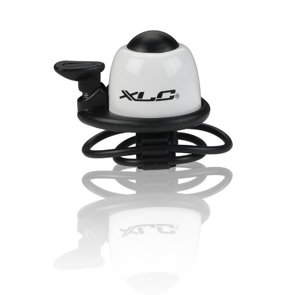 Фото Звонок велосипедный XLC DD-M07, белый, Ø22,2-31,8 мм