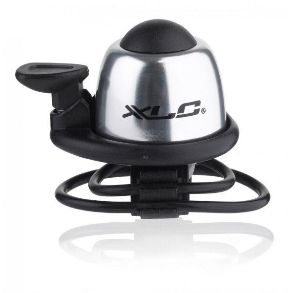 Фото Звонок велосипедный XLC DD-M07, серебристый, Ø22,2-31,8мм