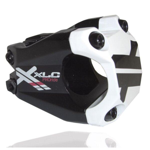 "Фото Вынос XLC ST-F02 Pro Ride, 40мм, черно-белый (1 1/8"", Ø31,8мм)"