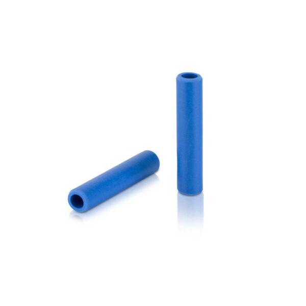 Фото Грипсы XLC GR-S31 'Silicone', синий, 130мм.
