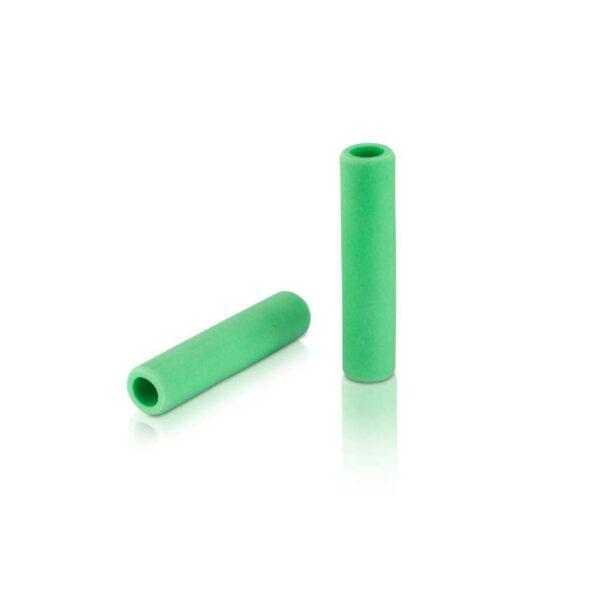 Фото Грипсы XLC GR-S31 'Silicone', зеленый, 130мм.
