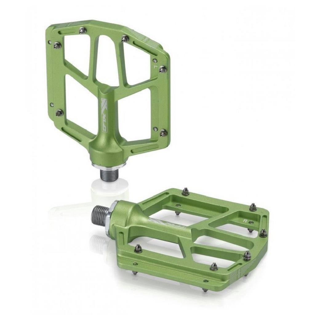 Фото Педали XLC PD-M14, 318 гр, зеленые