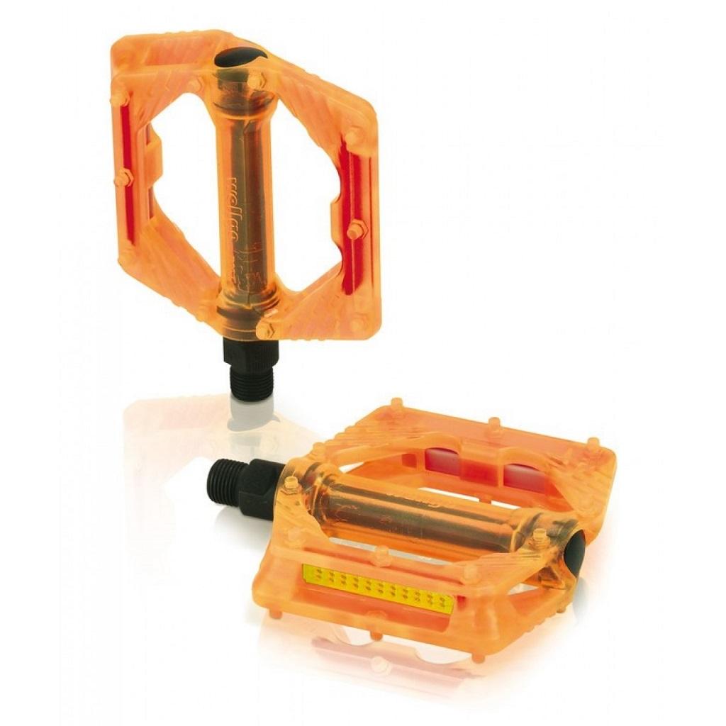 Фото Педали XLC PD-M16, 326 гр, оранжевые