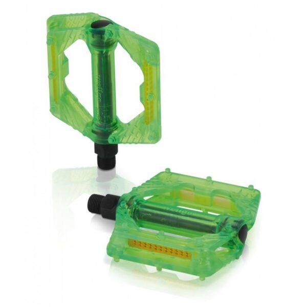 Фото Педали XLC PD-M16, 326 гр, зеленые