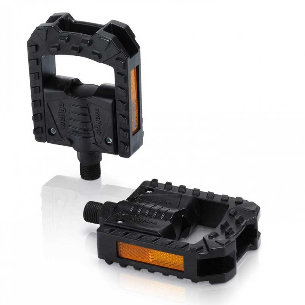 Фото Педали складные XLC PD-F01, 325 гр, черные