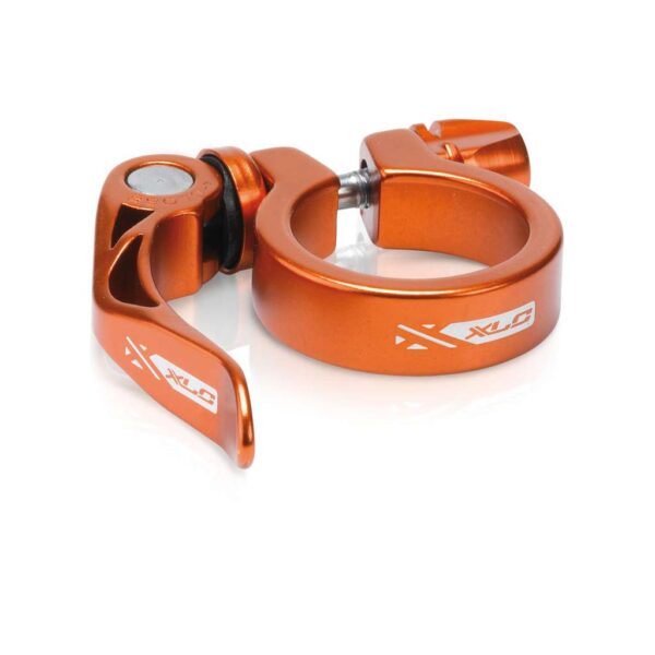 Фото Хомут XLC PC-L04, Ø34,9мм, оранжевый