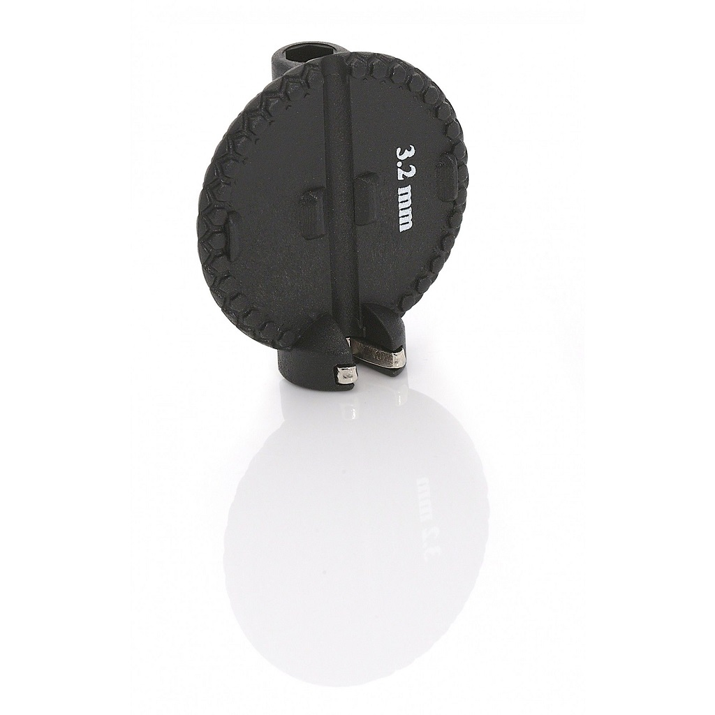Фото Ключ для спиц XLC TO-ND03, 3,2мм, черный