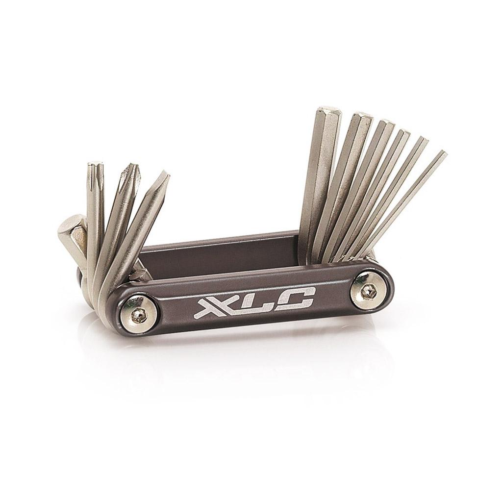 Фото Набор шестигранников XLC TO-MT03, 10 функций, серебристый