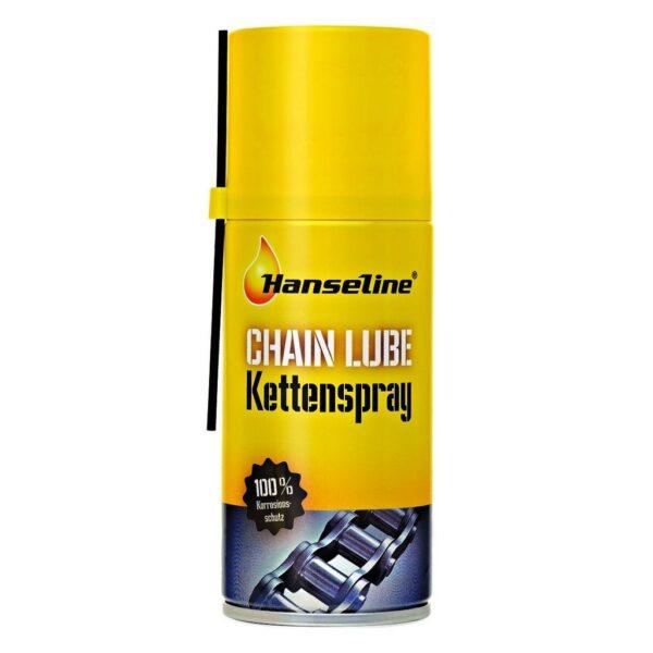 Фото Смазка для цепи спрей Нanseline Chaine Lube Kettenspray, 150мл