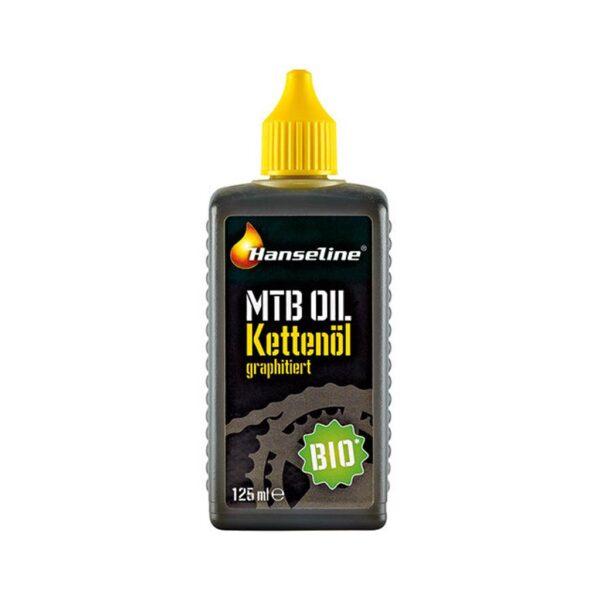 Фото Смазка для цепи Hanseline BIO-MTB-Oil, 125мл (графитная)