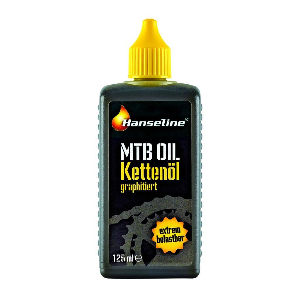Фото Смазка для цепи Hanseline MTB-Oil, 125мл (графитная)