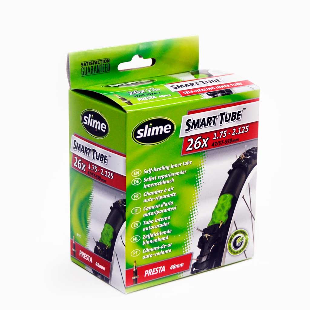 Фото Антипрокольная камера с жидкостью 26 x 1.75 — 2.2 PRESTA, Slime