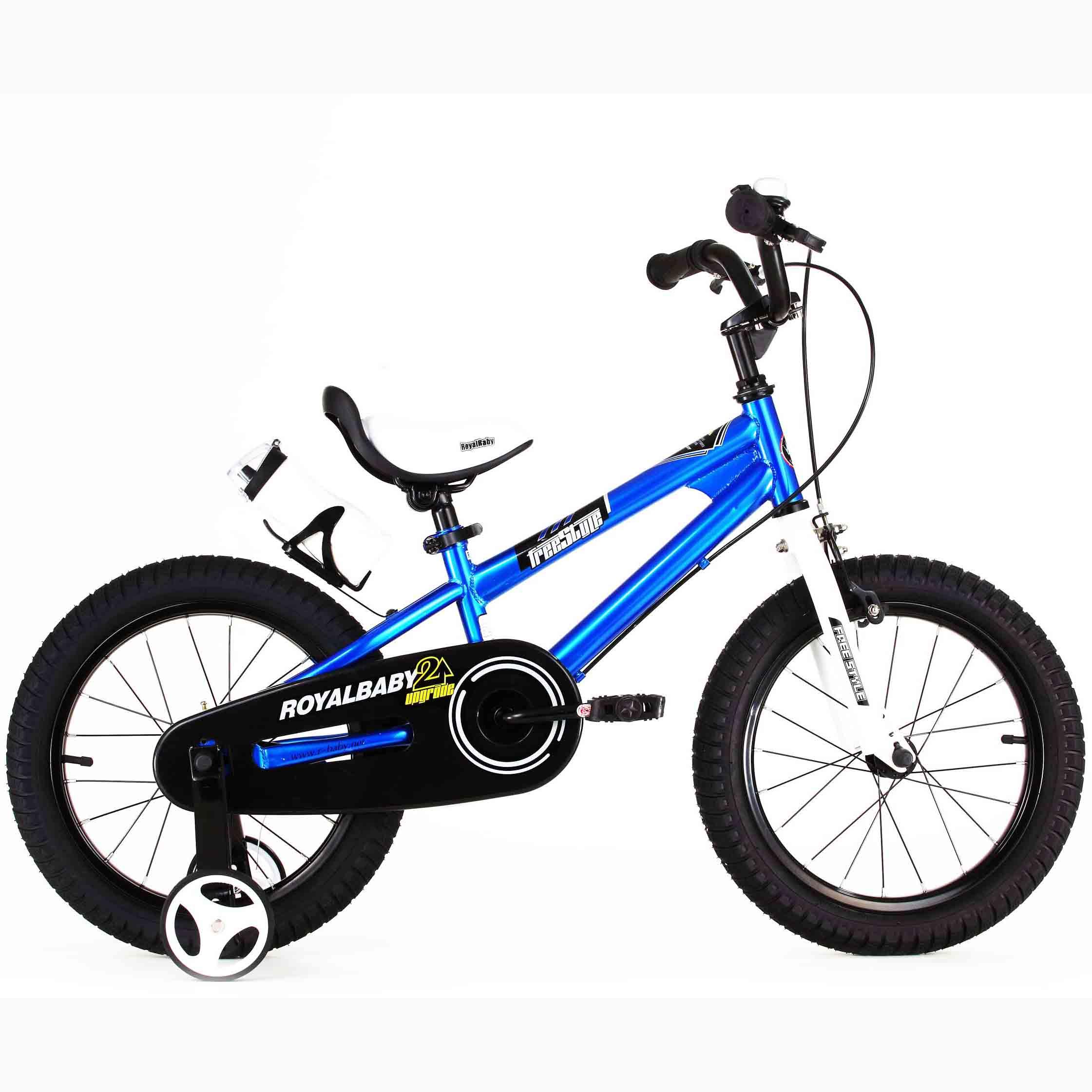 Фото Велосипед RoyalBaby FREESTYLE 18″, синий