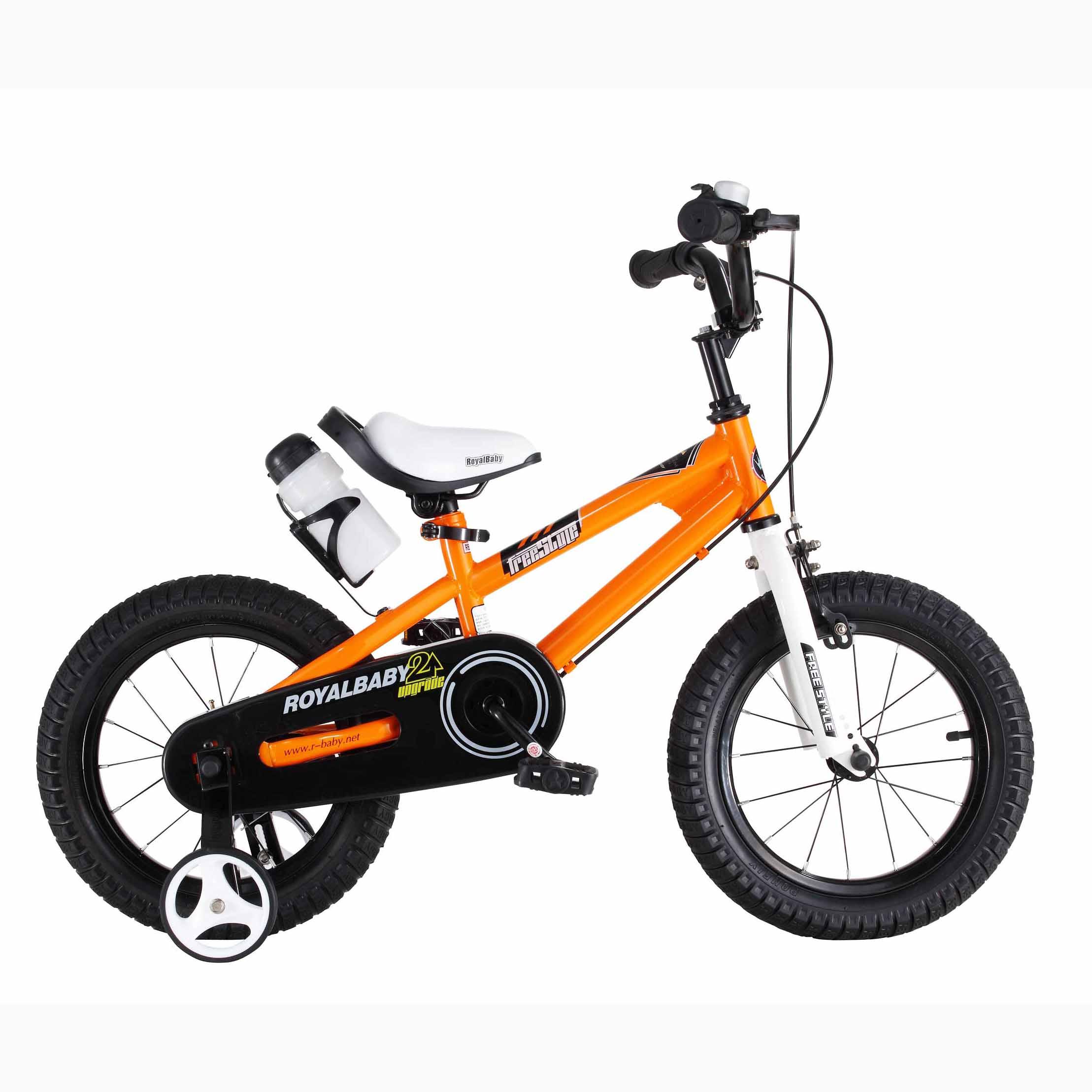 Фото Велосипед RoyalBaby FREESTYLE 16″, оранжевый