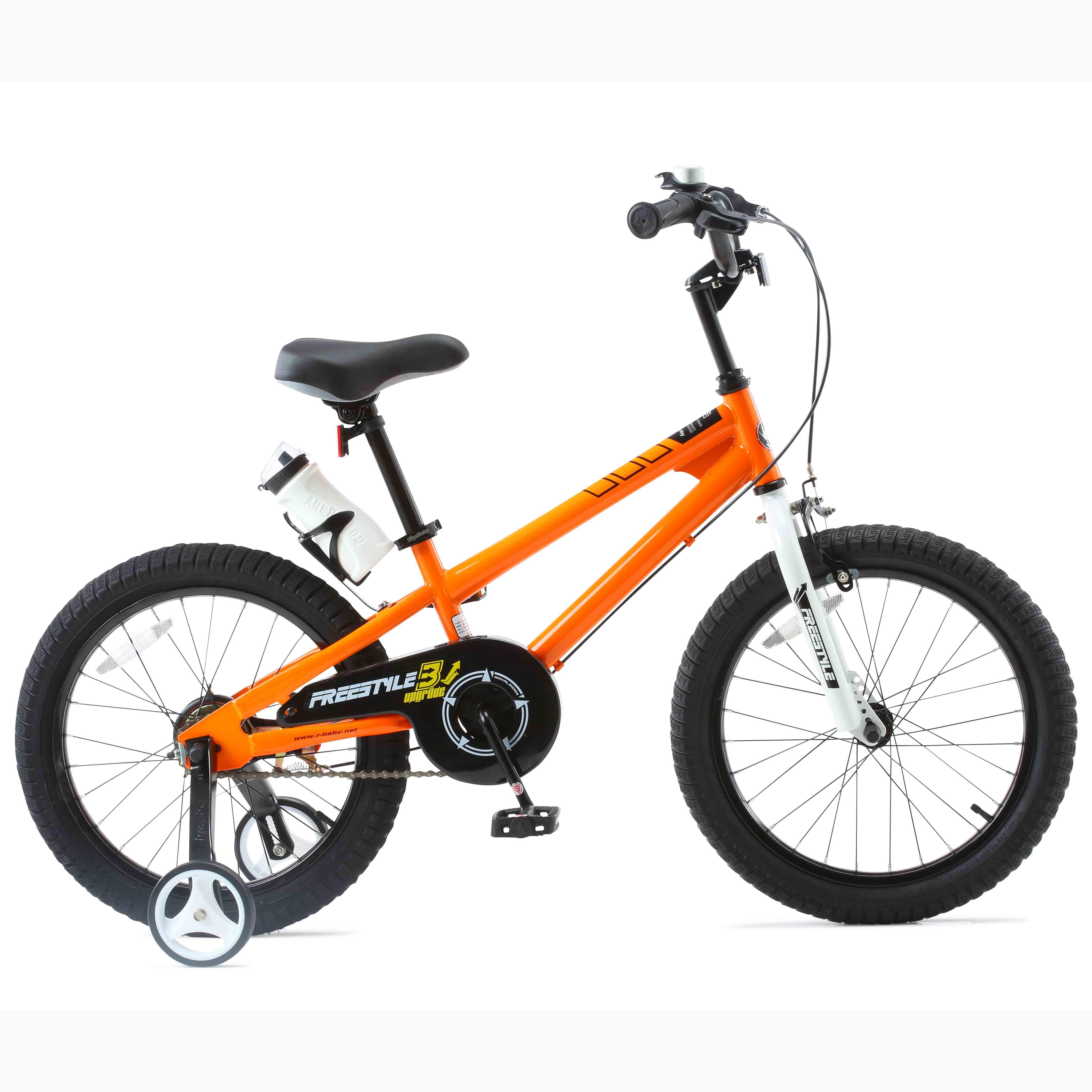 Фото Велосипед RoyalBaby FREESTYLE 18″, оранжевый