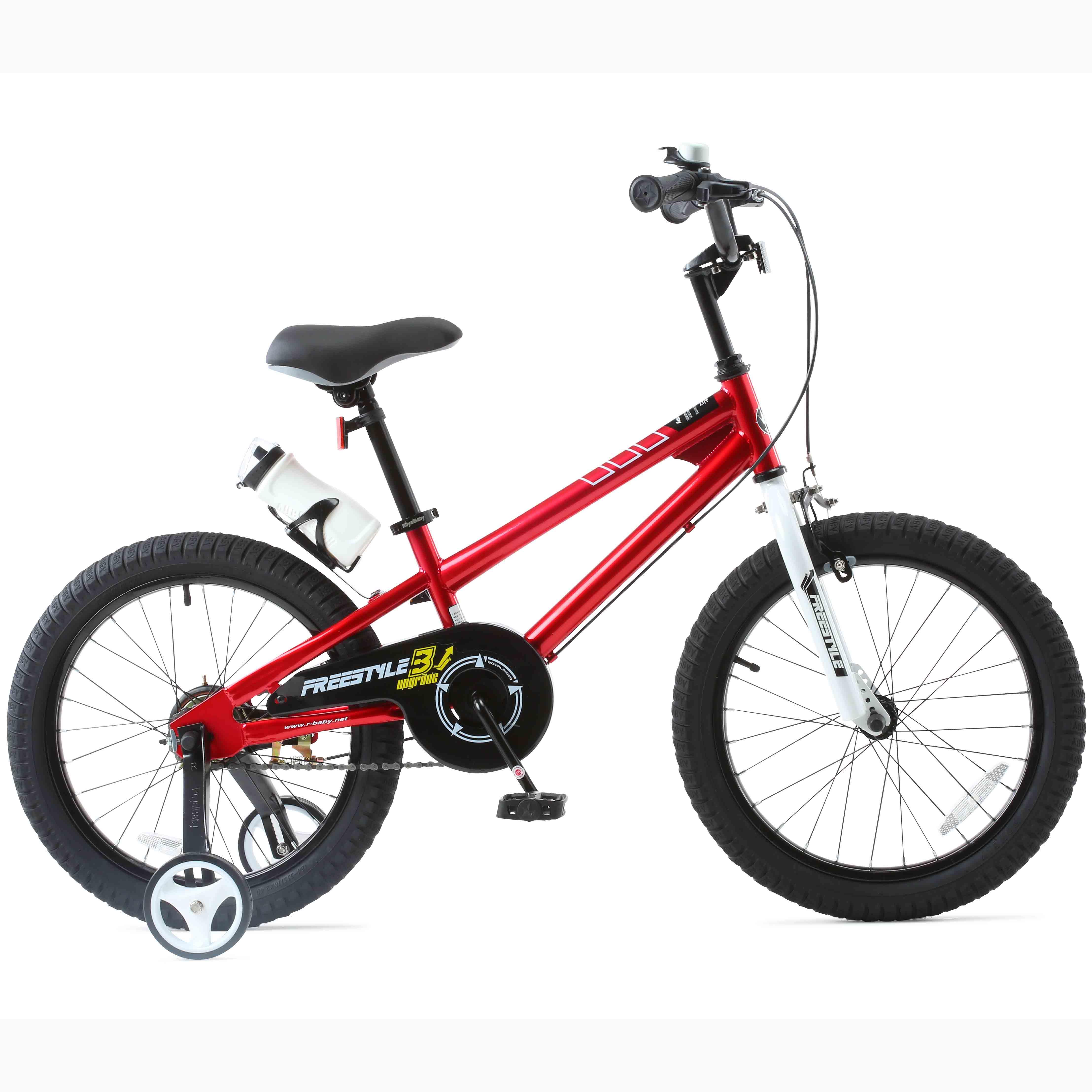 Фото Велосипед RoyalBaby FREESTYLE 18″, красный