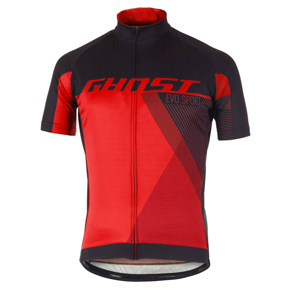 Фото Джерси Ghost Performance Evo BLK/RED, L