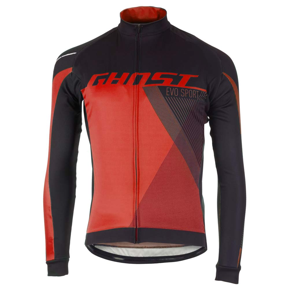 Фото Джерси Ghost Performance Evo long BLK/RED, L