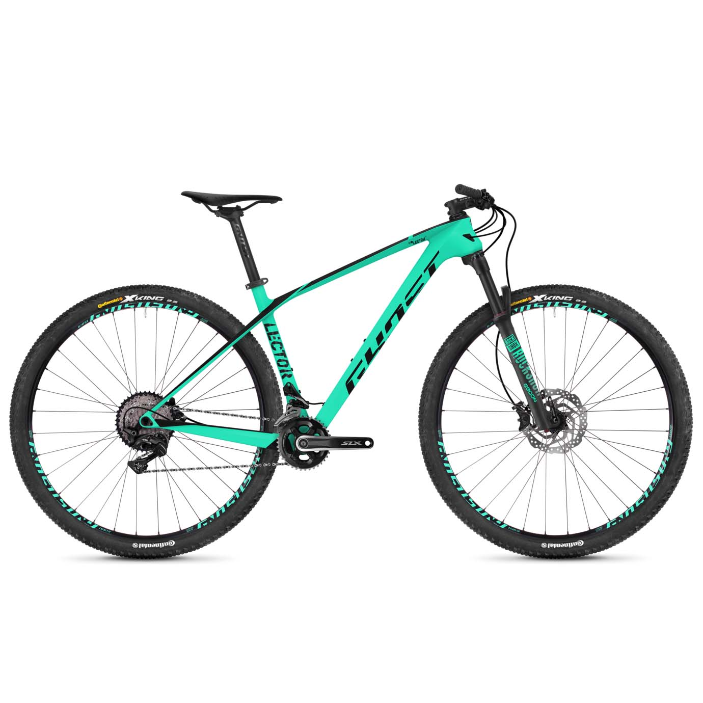 Фото Велосипед Ghost Lector 2.9 29″ , карбон,  рама, L 2019