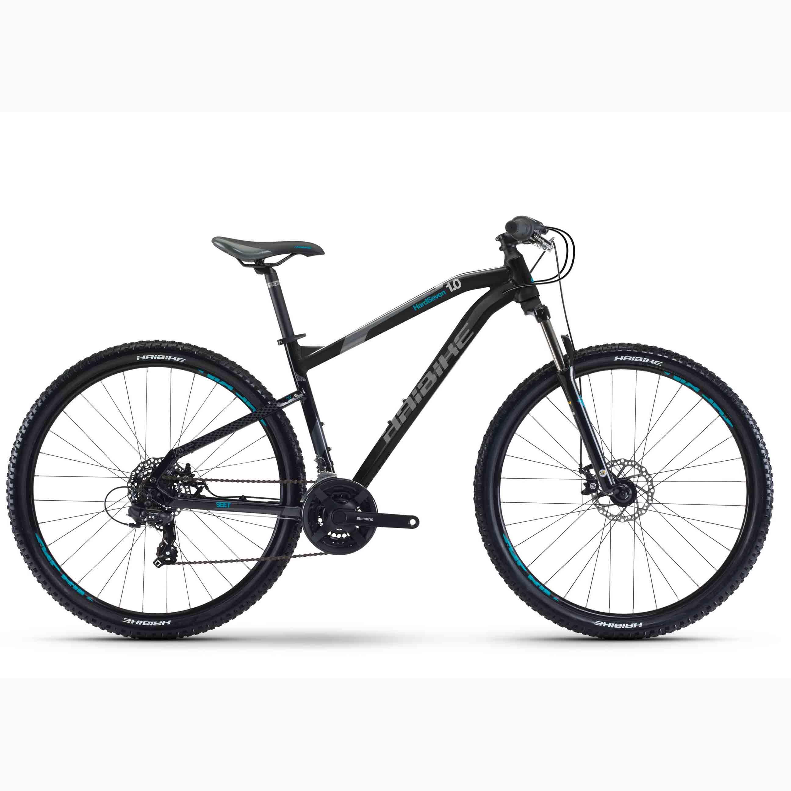 Фото Велосипед Haibike SEET HardNine 1.0  29″, рама 45 см, 2017, черный