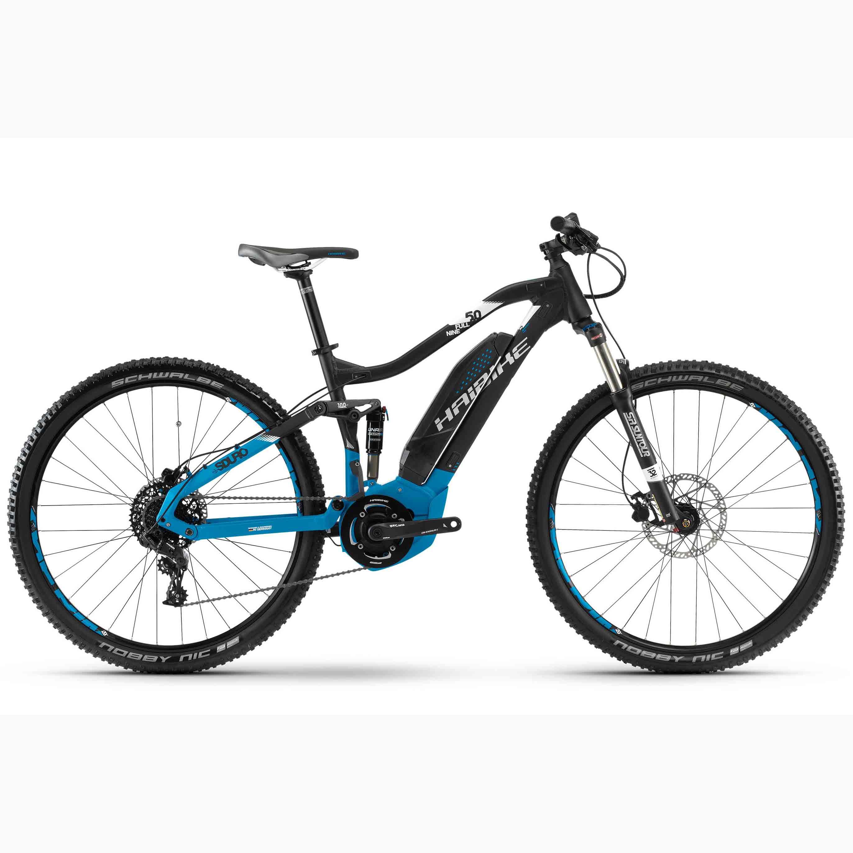 Фото Велосипед Haibike SDURO FullNine 5.0 29″ 400Wh, рама 48см, ход:100мм, 2018