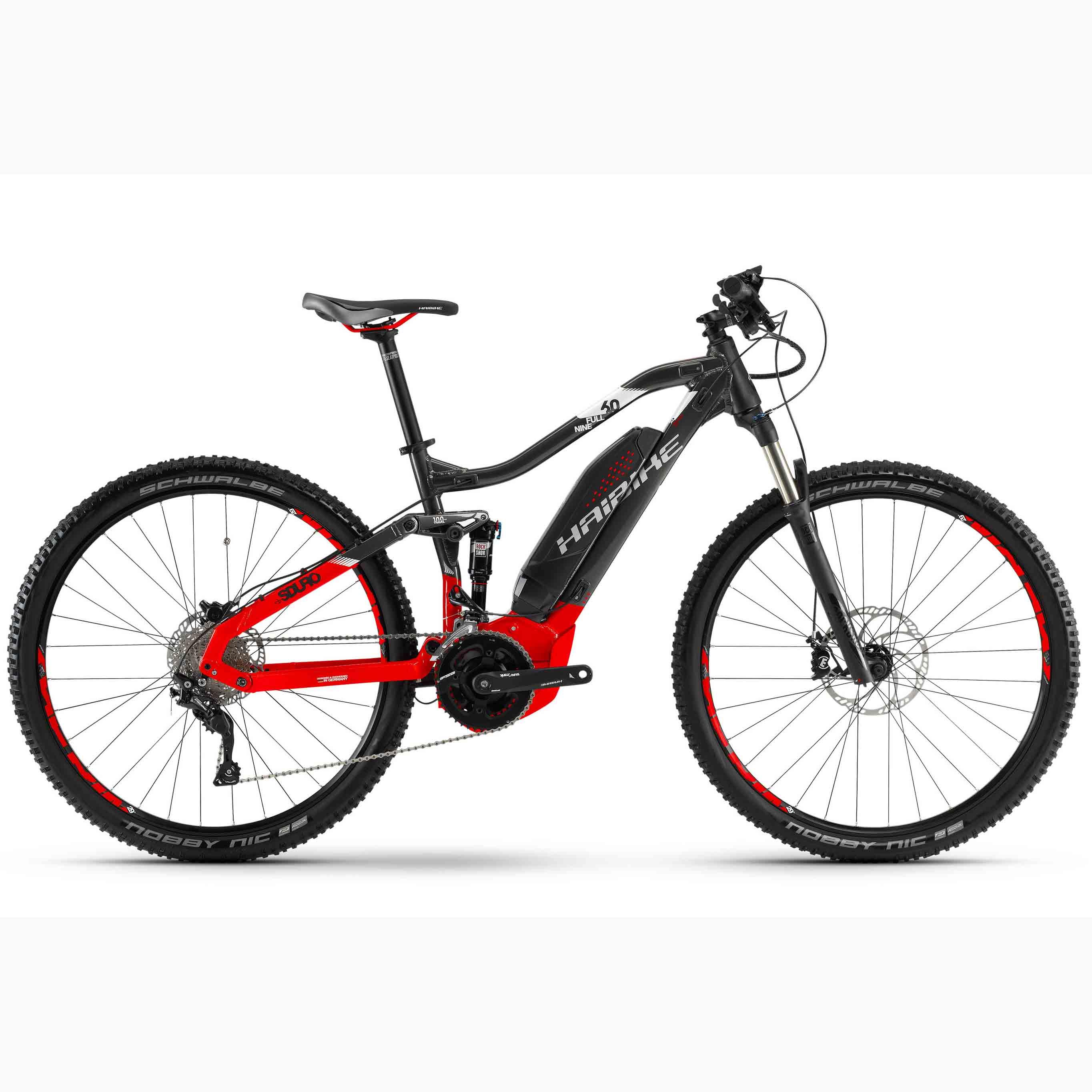 Фото Велосипед Haibike SDURO FullNine 6.0 29″ 500Wh, рама 48см, ход:100мм, 2018