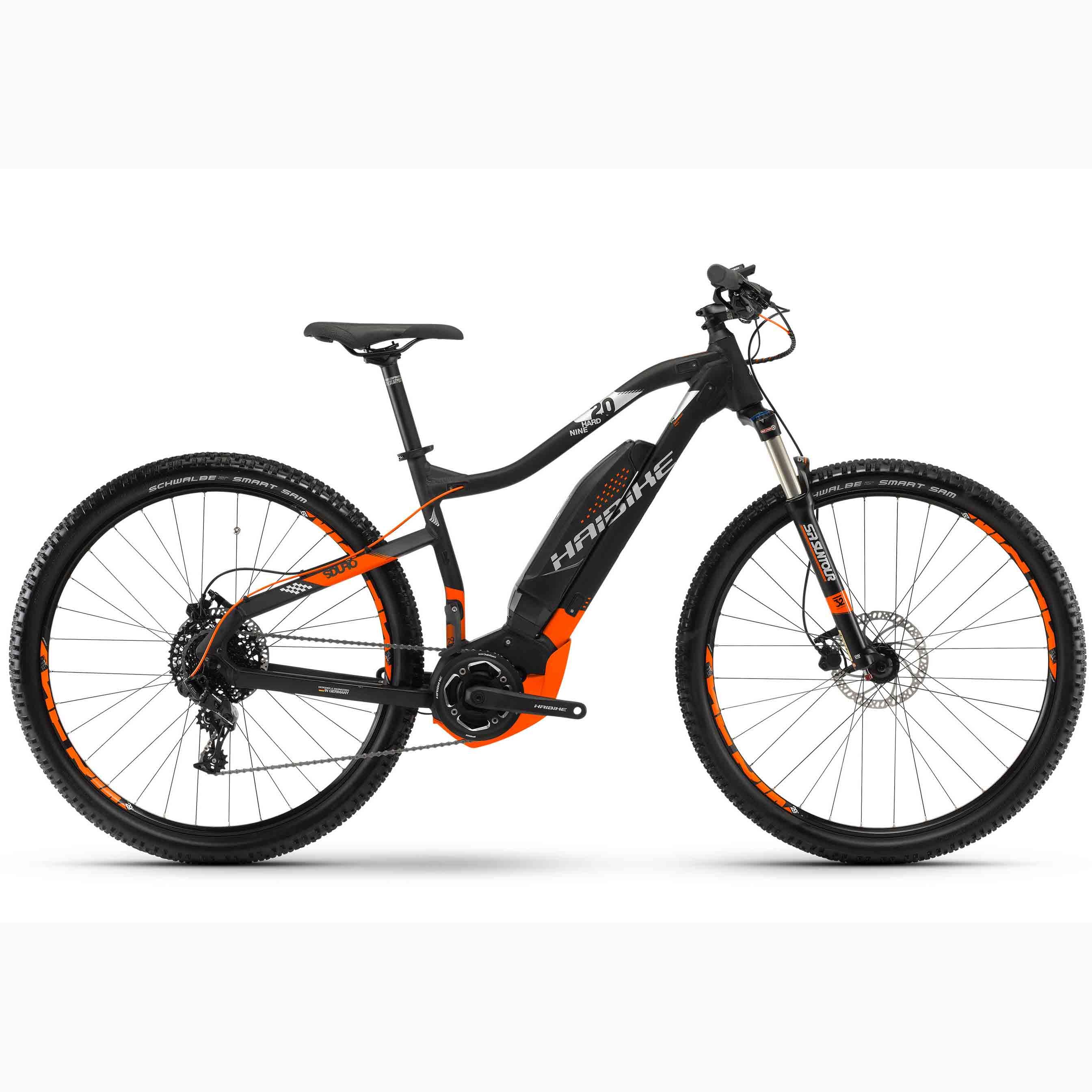 Фото Велосипед Haibike SDURO HardNine 2.0 29″ 400Wh, рама 55см, 2018