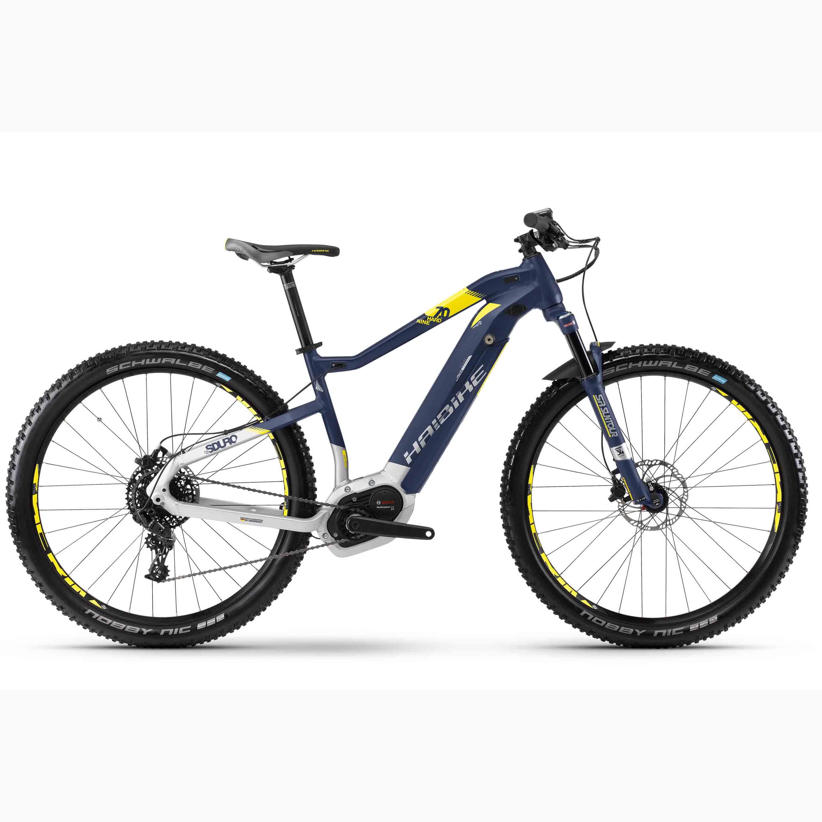 Фото Велосипед Haibike SDURO HardNine 7.0 29″ 500Wh, рама 48см, 2018