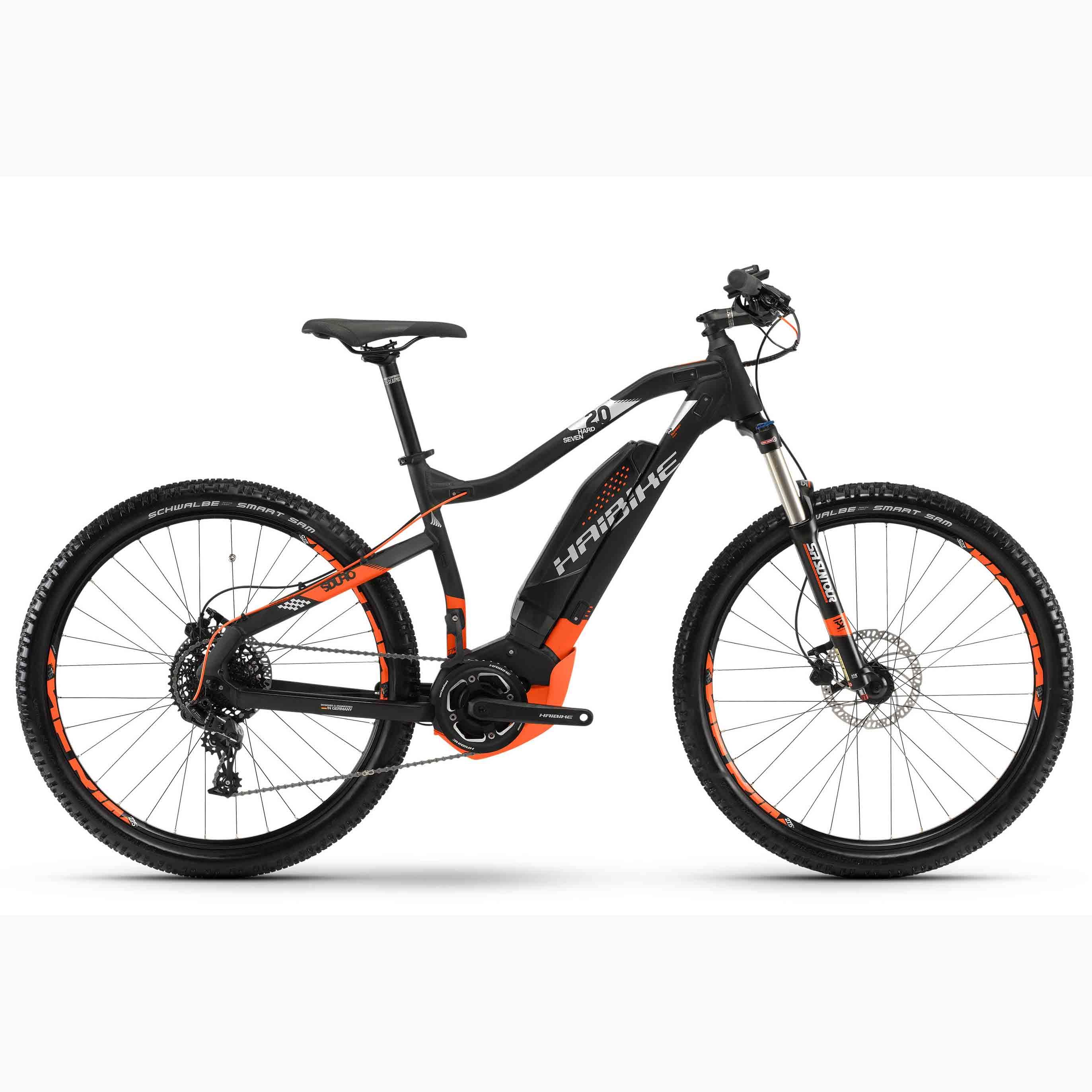 Фото Велосипед Haibike SDURO HardSeven 2.0 27,5″ 400Wh, рама 50см, 2018