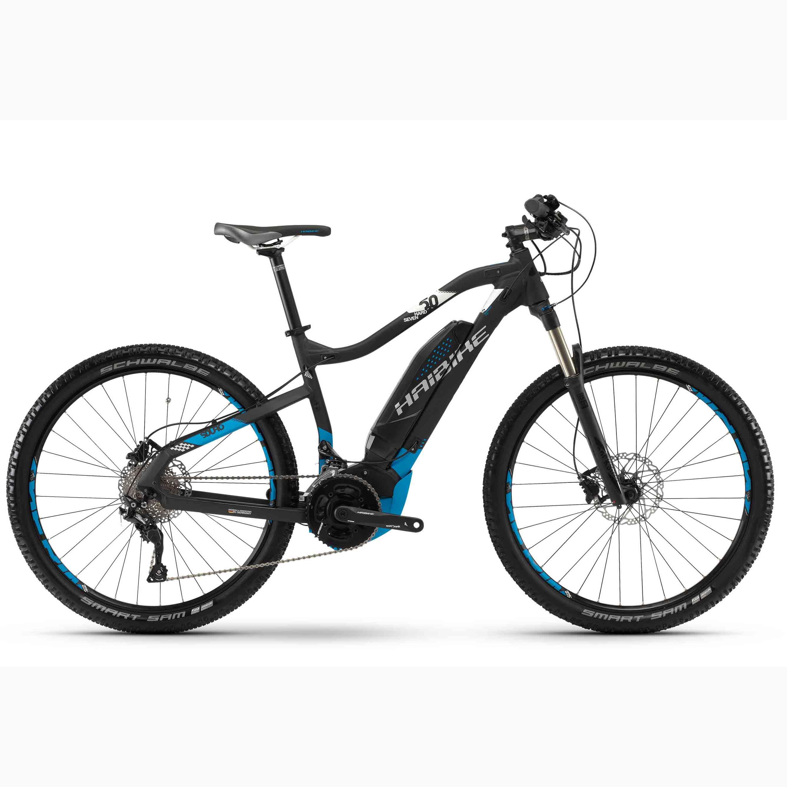 Фото Велосипед Haibike SDURO HardSeven 5.0 27,5″ 500Wh, рама 45см, 2018