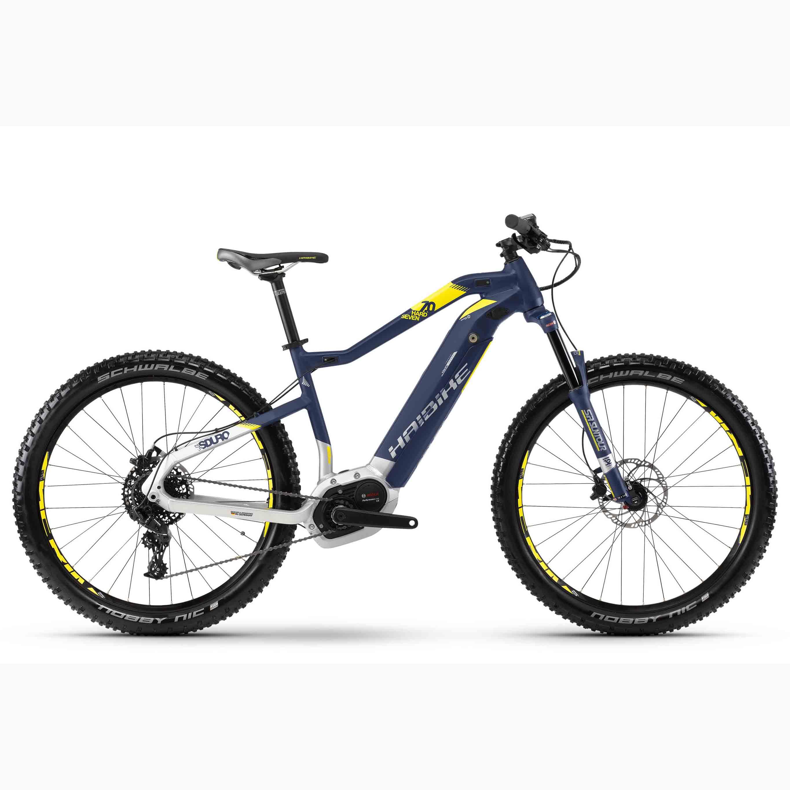 Фото Велосипед Haibike SDURO HardSeven 7.0 27,5″ 500Wh, рама 48см, 2018