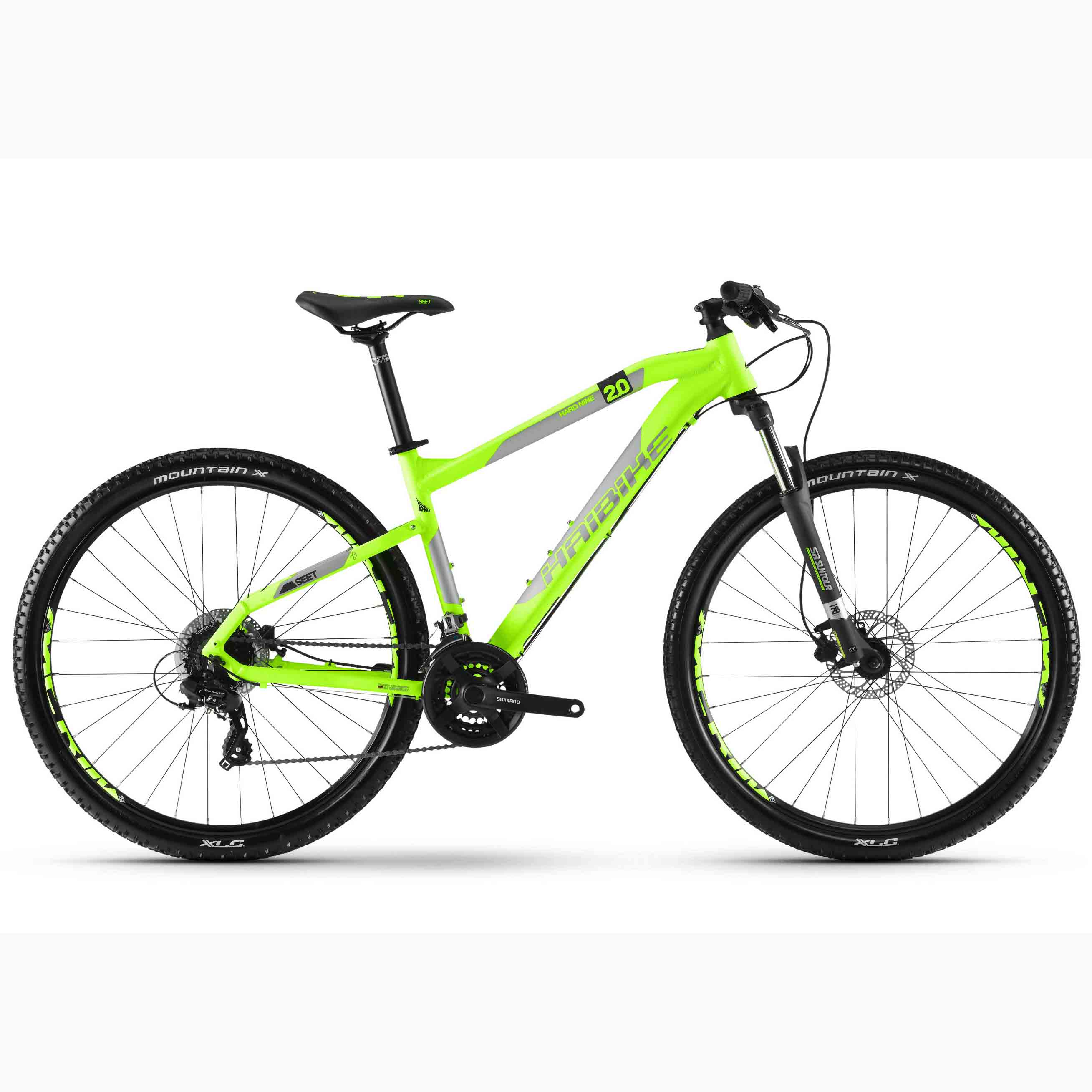 Фото Велосипед Haibike SEET HardNine 2.0 29″, рама 50см, 2018, лайм