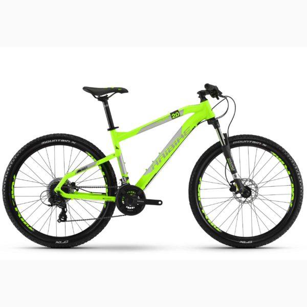 "Фото Велосипед Haibike SEET HardSeven 2.0 27,5"", рама 50см, 2018, лайм"